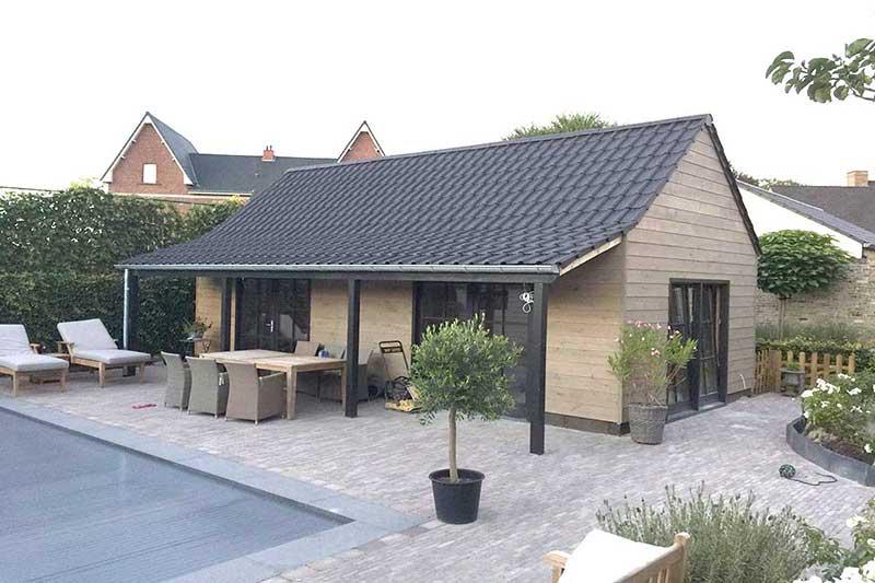 Dakwerken daniels in dessel dakisolatie hellende en platte daken lood zink en koperwerken - Pergola dak platte ...
